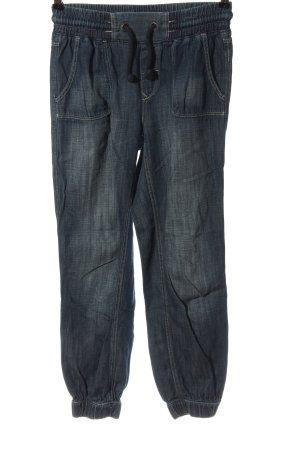 H&M Stoffhose blau Casual-Look