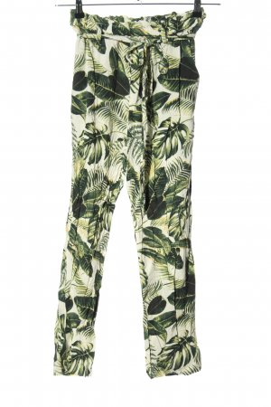 H&M Stoffen broek volledige print casual uitstraling