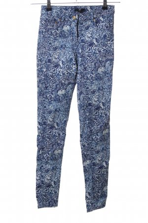 H&M Stoffhose Allover-Druck Casual-Look