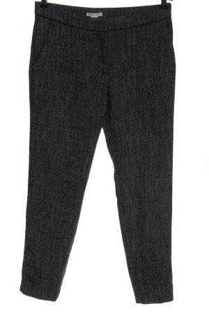H&M Pantalón tipo suéter negro moteado estilo «business»
