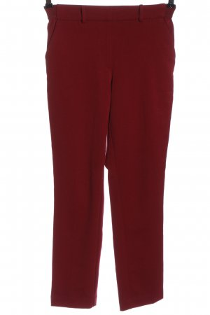 H&M Stoffhose rot Streifenmuster Casual-Look