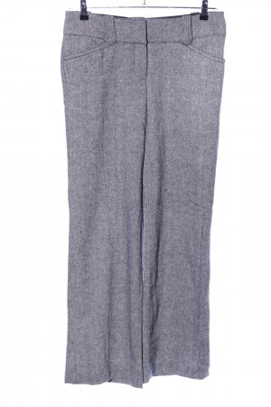 H&M Stoffhose hellgrau meliert Business-Look