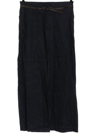 H&M Stoffhose schwarz Casual-Look