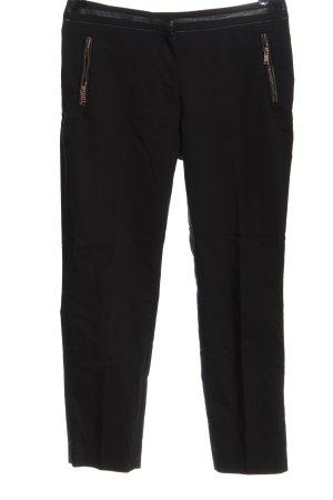 H&M Spodnie materiałowe czarny W stylu casual