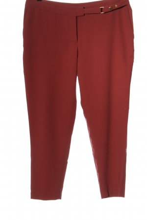 H&M Stoffhose rot Business-Look