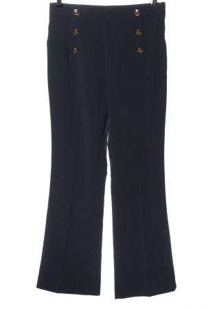 H&M Stoffhose blau Business-Look