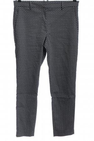 H&M Stoffhose abstraktes Muster Casual-Look