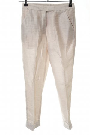 H&M Stoffhose creme Allover-Druck Casual-Look