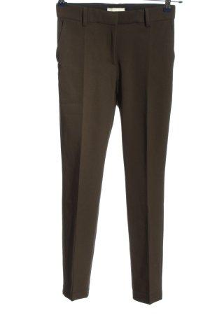 H&M Stoffhose khaki Business-Look