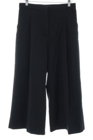 H&M Stoffhose schwarz Elegant