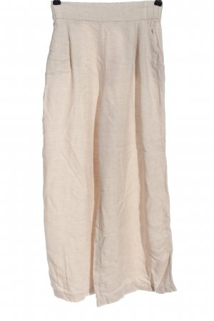 H&M Stoffhose creme meliert Casual-Look
