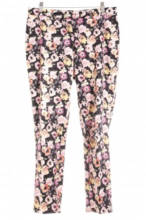 H&M Stoffhose florales Muster Casual-Look