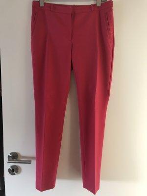 H&M Pantalón tipo suéter rojo frambuesa-magenta Algodón