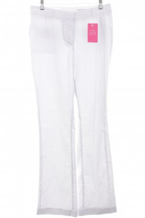 H&M Stoffhose weiß Casual-Look