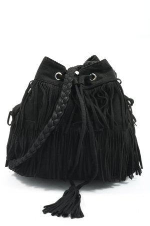 H&M Sac en toile noir style décontracté