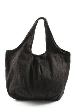 H&M Canvas Bag black casual look