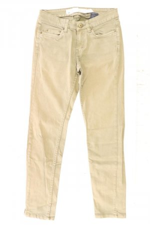 H&M Jeansy z prostymi nogawkami oliwkowy Bawełna
