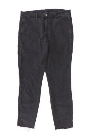 H&M Jeansy z prostymi nogawkami czarny Bawełna
