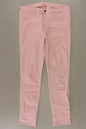 H&M Jeansy z prostymi nogawkami stary róż-różany-jasny różowy-różowy