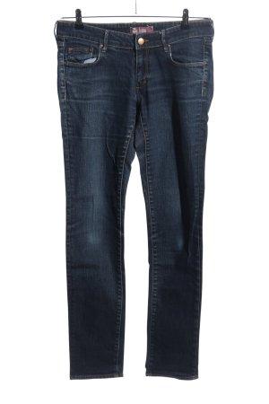 H&M Straight-Leg Jeans blau Casual-Look