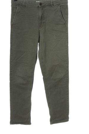 H&M Jeansy z prostymi nogawkami khaki W stylu casual