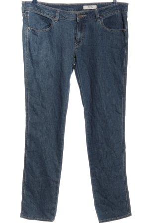 H&M Jeans coupe-droite bleu style décontracté