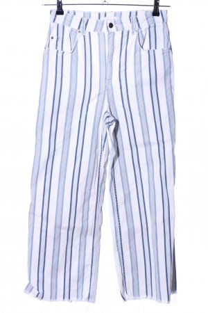 H&M Jeansy z prostymi nogawkami Wzór w paski W stylu casual