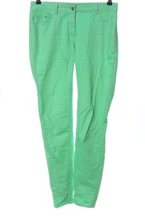 H&M Jeansy z prostymi nogawkami zielony W stylu casual