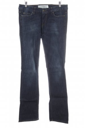 H&M Jeansy z prostymi nogawkami niebieski Gradient W stylu casual