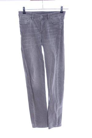 H&M Jeansy z prostymi nogawkami jasnoszary W stylu casual