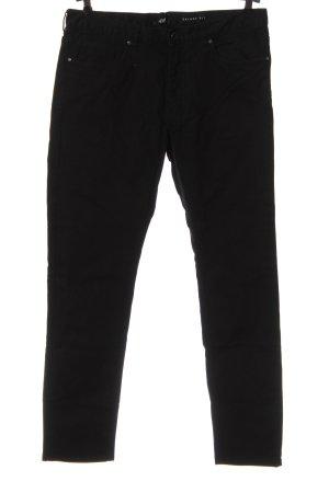 H&M Jeansy z prostymi nogawkami czarny W stylu casual