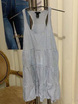H&M Sukienka plażowa biały-błękitny