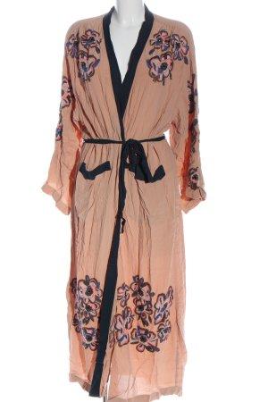 H&M Kimono nude Wyhaftowany logo W stylu casual