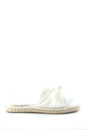 H&M Claquette blanc style décontracté