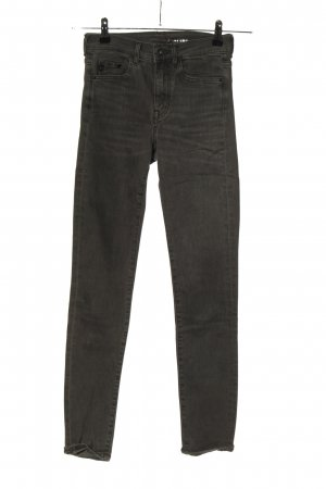 H&M Stretch jeans lichtgrijs casual uitstraling