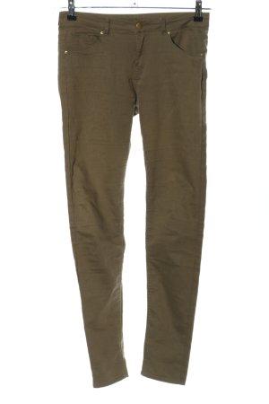 H&M Stretch Jeans braun Casual-Look