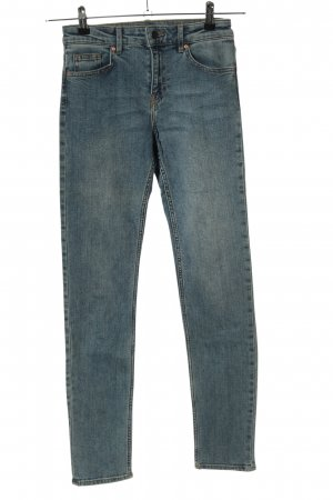 H&M Stretch jeans blauw casual uitstraling