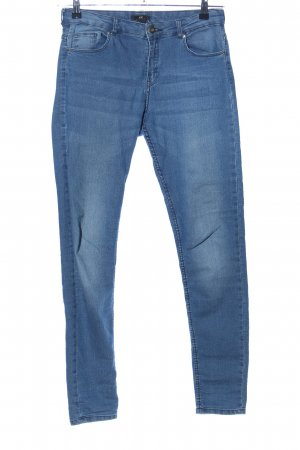 H&M Vaquero elásticos azul look casual