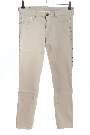 H&M Stretch Trousers light grey casual look
