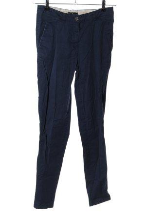 H&M Stretchhose blau Casual-Look
