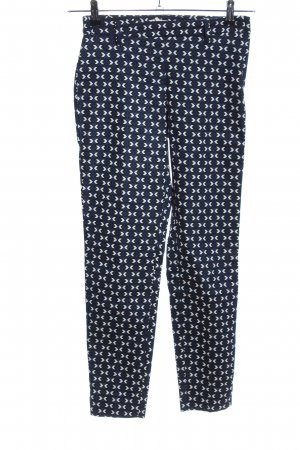 H&M Stretch Trousers graphic pattern casual look