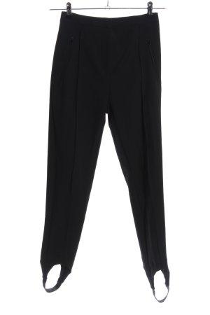 H&M Pantalone elasticizzato nero stile casual