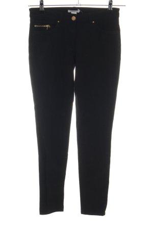H&M Pantalón elástico negro look casual