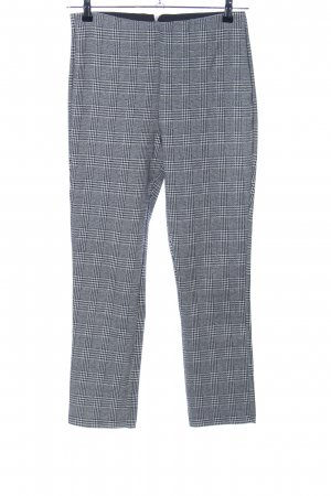 H&M Stretch Trousers light grey allover print business style