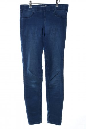 H&M Stretch Trousers blue casual look