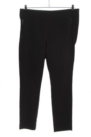 H&M Stretchhose schwarz Casual-Look