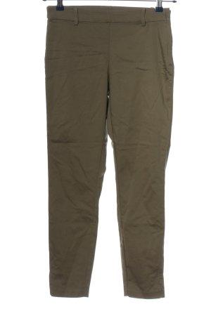 H&M Stretchhose khaki Casual-Look