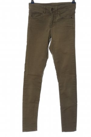 H&M Stretchhose braun Casual-Look