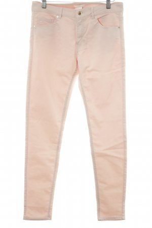 H&M Stretch Trousers pink casual look