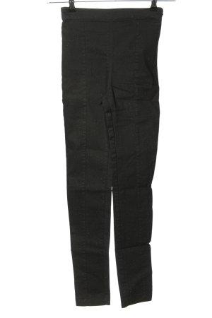 H&M Stretch broek zwart casual uitstraling